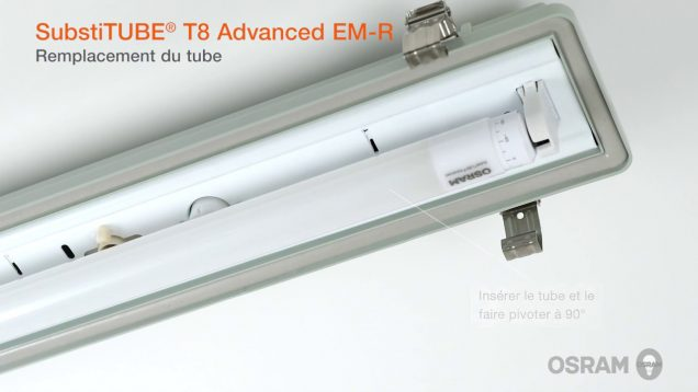 Installation des SubstiTUBE® Advanced et Value T8 EM
