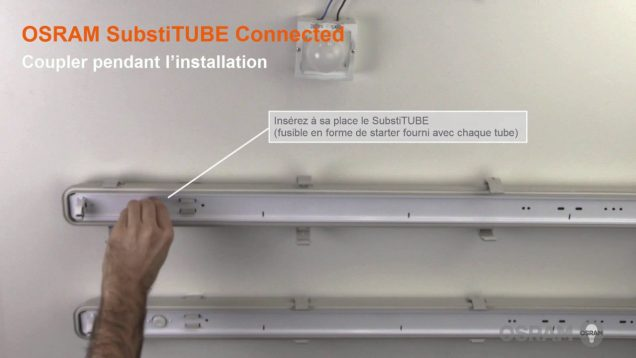 "Tube LED connecté "" SubstiTUBE Connected"" – l'alternative économique aux tubes fluorescents T8"