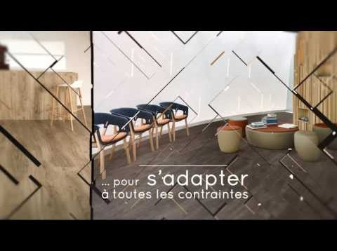 Sol PVC – Nouvelle collection LVT Allura – à coller, à poisser, à clipser