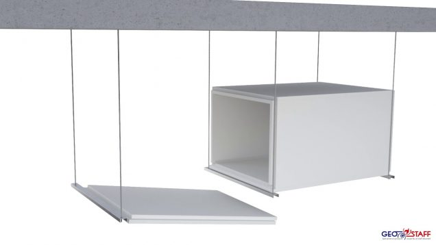 Geostaff Horizontal Smoke extraction or Ventilation duct