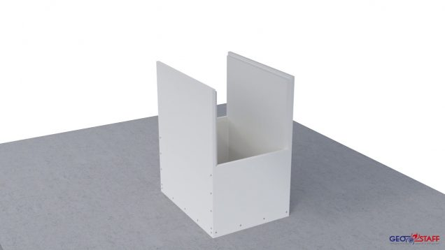 Geostaff Vertical Smoke extraction or Ventilation duct