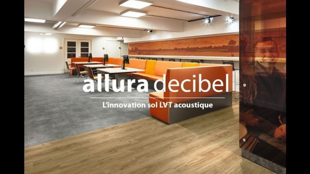 L'innovation sol LVT ACOUSTIQUE